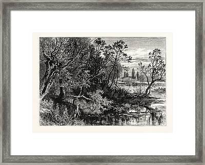 Temple Lock, Near Marlow, Uk, Britain, British Framed Print by English School
