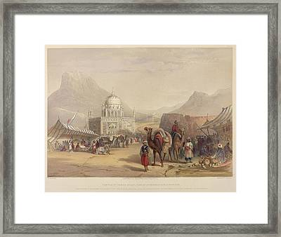 Temple Of Ahmed Shauh Framed Print by British Library