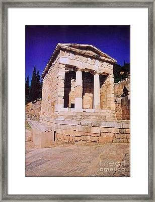 Temple Of Apollo Framed Print