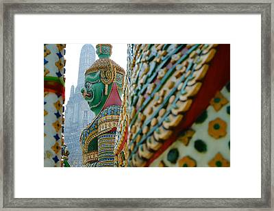 Temple Of Dawn Framed Print
