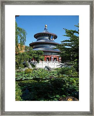 Temple Of Heaven Framed Print