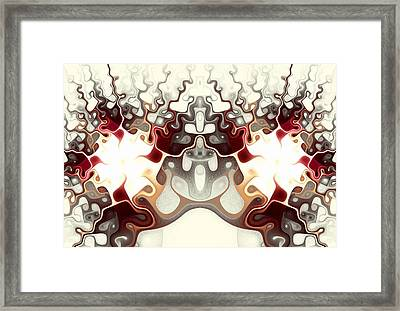 Temple Of Light Framed Print