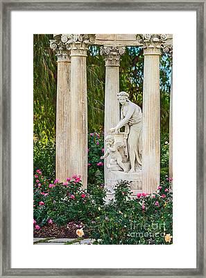 Temple Of Love Framed Print by Jamie Pham