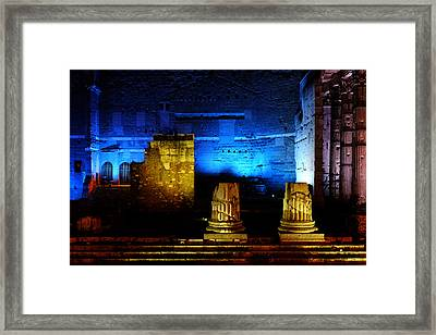 Temple Of Mars Ultor Framed Print by Fabrizio Troiani