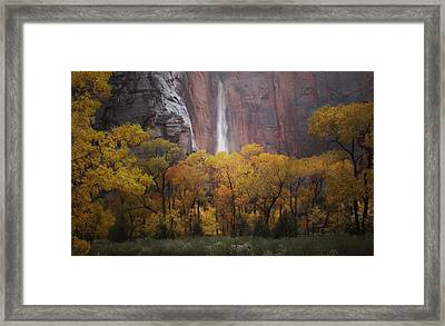 Temple Of Sinewava 1 Framed Print