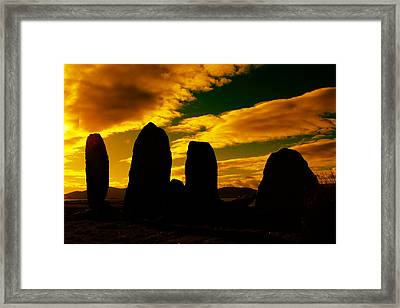 Temple Of The Ancients Framed Print