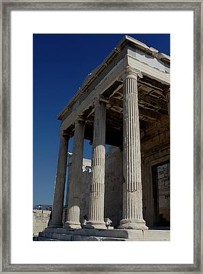 Temple Of The Athena Nike Framed Print
