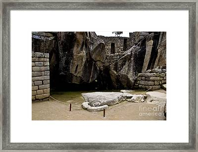 Temple Of The Condor Framed Print