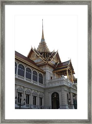Temple Of The Emerald Buddha - Grand Palace In Bangkok Thailand - 011313 Framed Print