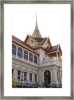Temple Of The Emerald Buddha - Grand Palace In Bangkok Thailand - 011314 Framed Print