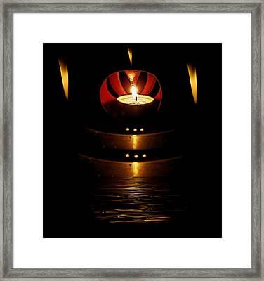 Temple Of The Light Framed Print