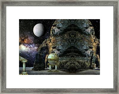 Temple Of The Mind Framed Print