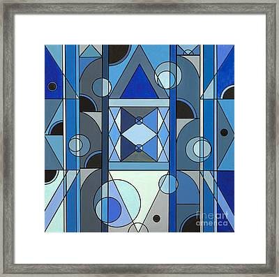 Temple Of The Moon Framed Print