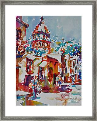 Temple Of The Nuns Framed Print