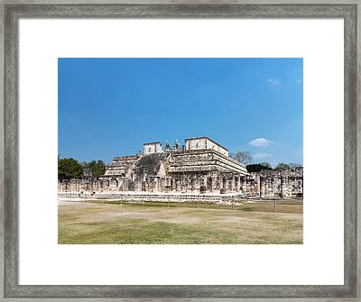 Temple Of The Warriors Framed Print