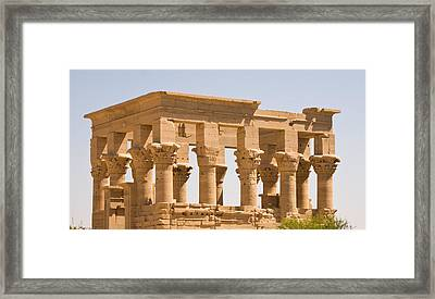 Temple Out Building Framed Print