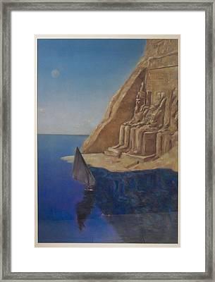 Temple  Framed Print by Paez  Antonio