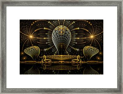 Temple Framed Print