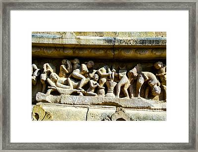 Temple Two Framed Print