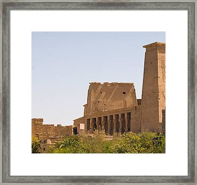 Temple View Framed Print