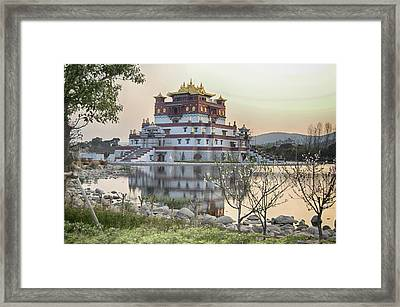 Temple Wuxi China Color Framed Print