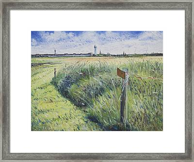 Templehof Airfield Berlin Germany 2014 Framed Print