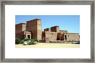 Templo De Isis  Framed Print