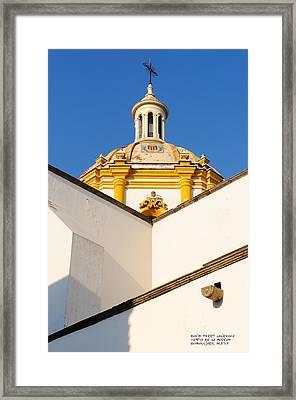 Templo De La Merced Guadalajara Mexico Framed Print by David Perry Lawrence