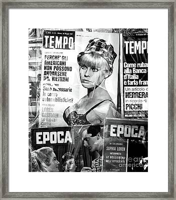 Tempo  Framed Print by John Rizzuto