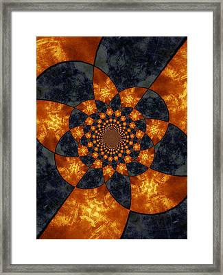 Temporal Dream Framed Print by Tom Druin