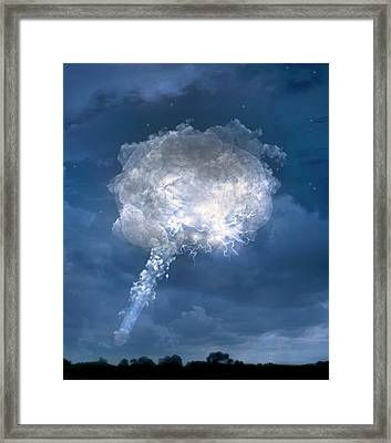 Temporal Lobe Epilepsy Framed Print by Tim Vernon