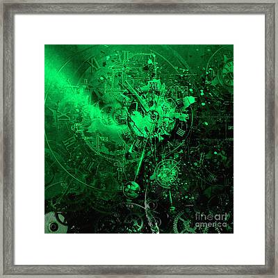 Temporal Solution Framed Print by Franziskus Pfleghart