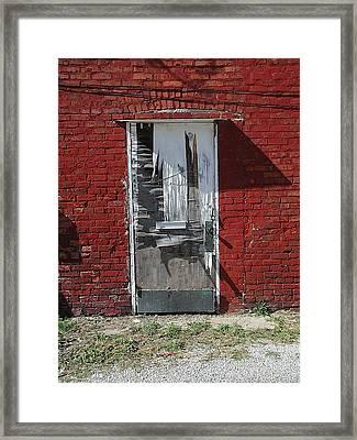Temporary Framed Print by Joseph Yarbrough