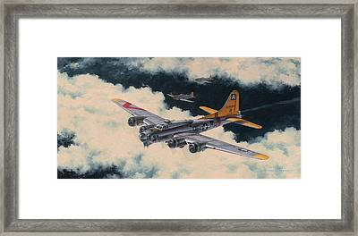 Temporary Reprieve Framed Print by Wade Meyers