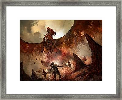 Tempt With Immortality Framed Print by Philip Straub