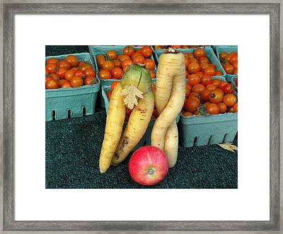 Temptation Framed Print by Brian Chase