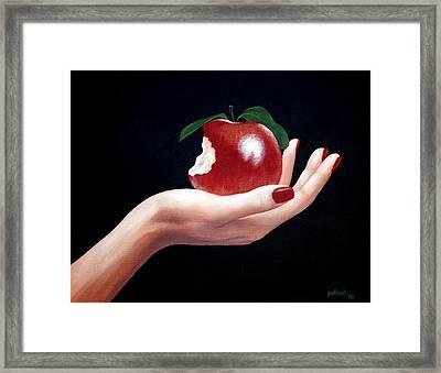 Temptation I Framed Print