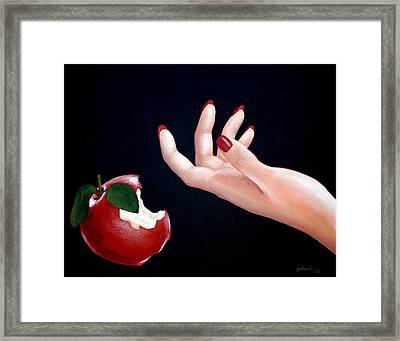Temptation II Framed Print