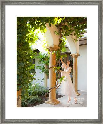 Temptation Framed Print by Theresa Tahara