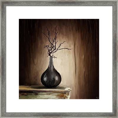 Tempting Beauty Framed Print by Lourry Legarde