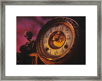 Tempus Fugit Framed Print