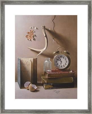 Tempus Fugit Framed Print by Timothy Jones