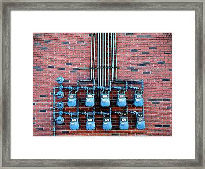 Ten -- And Four Framed Print