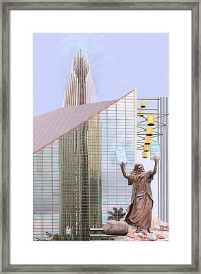 Ten Commandments Framed Print by Viktor Savchenko