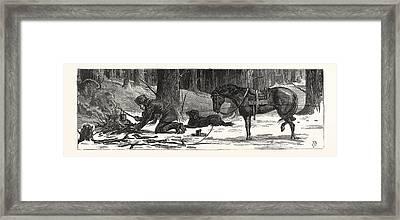 Ten Minutes Refreshments, British Columbia Framed Print