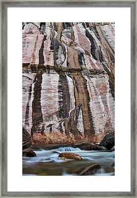 Ten Sleep Creek Framed Print