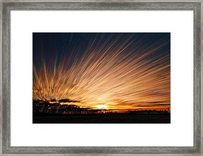 Ten Thousand Paths Framed Print