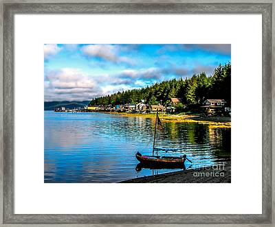 Tenakee Springs Framed Print