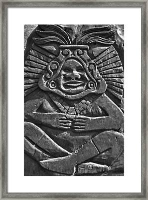 Tenancingo's Malinche Framed Print by John  Bartosik