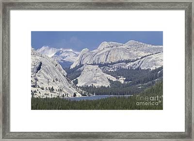 Tenaya Lake Grandeur Framed Print